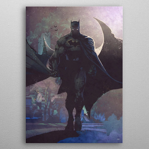 Poster en Métal Batman By Displate