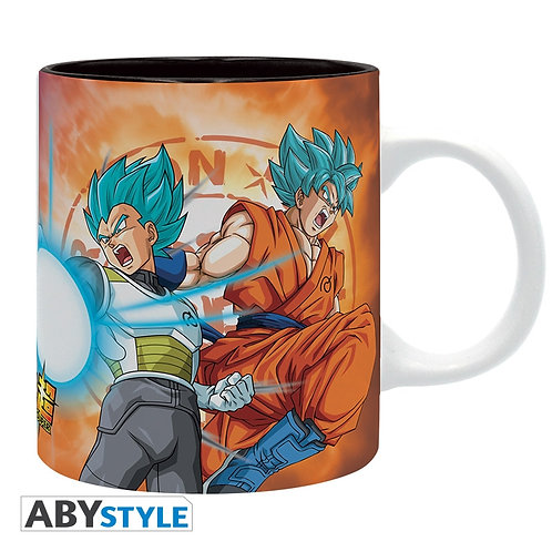 DRAGON BALL SUPER Mug Saiyans VS Freezer