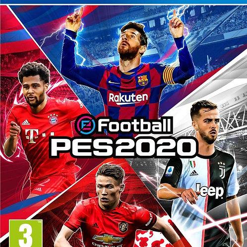 PES 2020 E FOOTBALL PS4