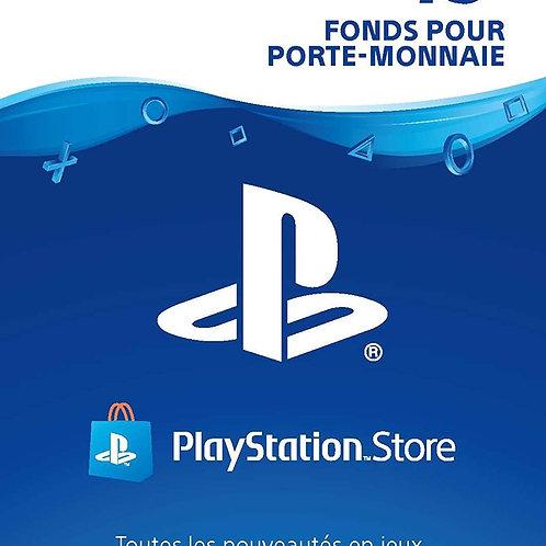 CARTE PSN 75€ FR