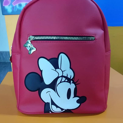 Mini Sac à dos Disney Minnie Rouge