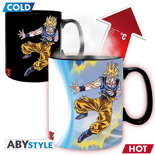 DRAGON BALL Z Mug thermo-réactif Goku VS Buu