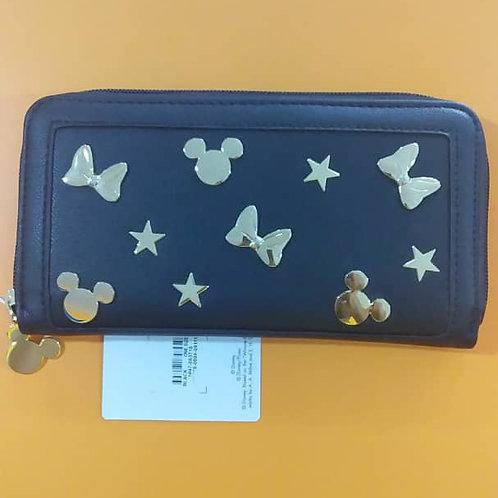 Porte Monnaie Disney Mickey Noir Rectangle