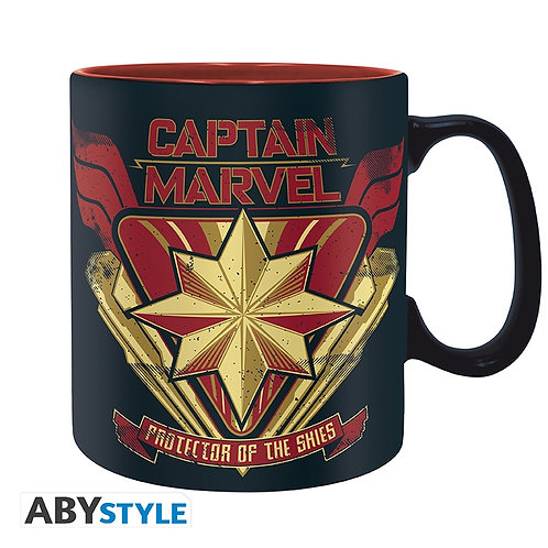 MARVEL Mug Captain Marvel Grand contenant