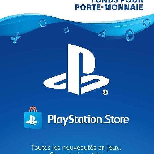 CARTE PSN 100€ FR