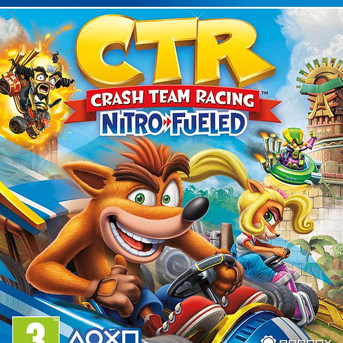 CRASH TEAM RACING CTR NITRO FUELED PS4