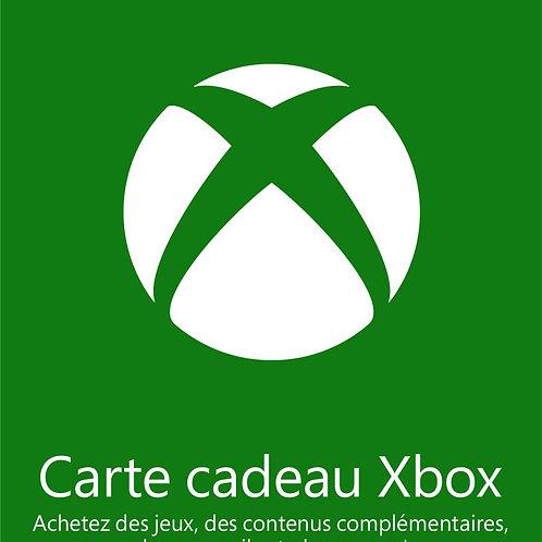 CARTE XBOX LIVE 25€