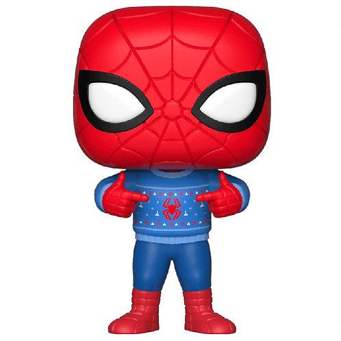 Figurine POP Holiday Spiderman (Marvel)