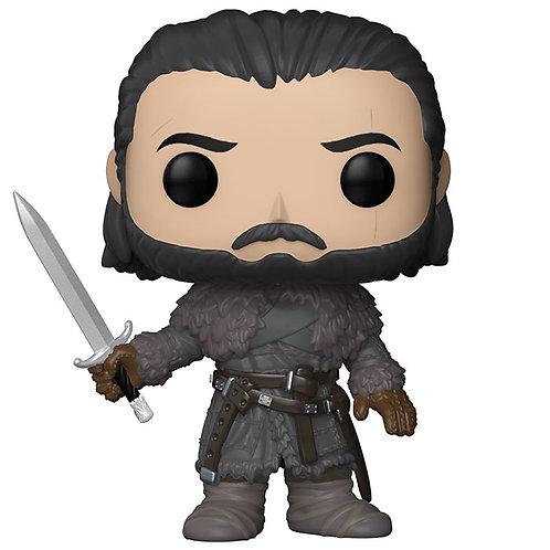 Figurine Jon Snow beyond the wall season six (Game Of Thrones)