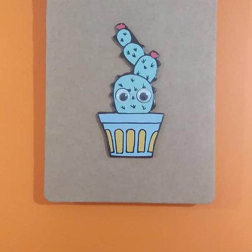 Bloc Note Cactus Petit Format