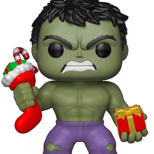 Figurine POP Holiday Hulk w/Stocking & Plush