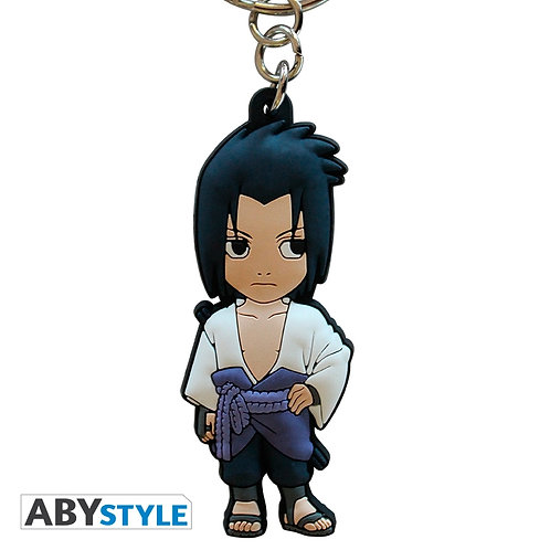 NARUTO SHIPPUDEN Porte-clés Sasuke PVC