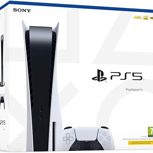 Console Playstation 5 PS5 Standard (Bluray)
