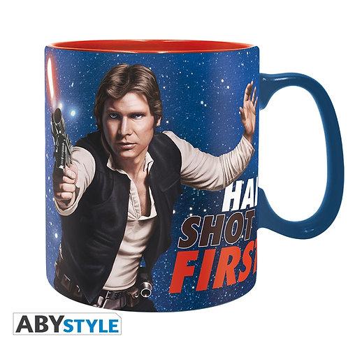 STAR WARS Mug Han shot first Grand contenant
