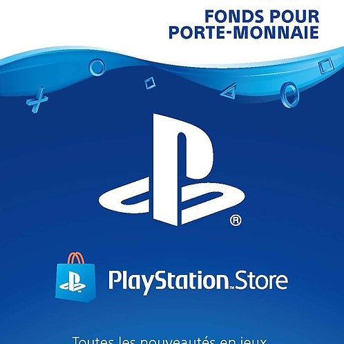 CARTE PSN 50€ FR