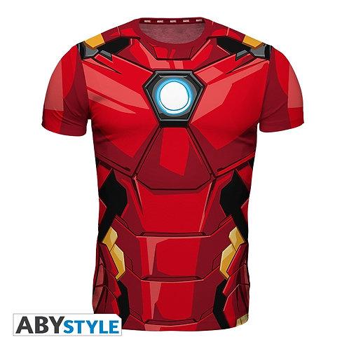 MARVEL T-shirt Armure Iron Man