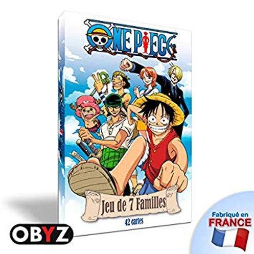 Jeux des 7 Familles : One Piece