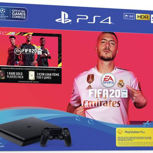 CONSOLE PS4 SLIM 500GO PACK + FIFA 20