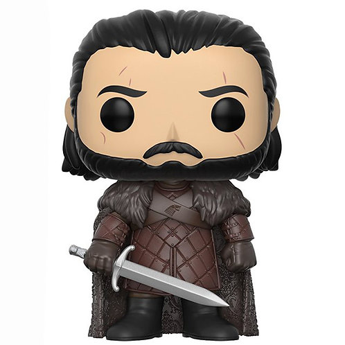 Figurine POP Jon Snow King in the North (Game Of Thrones)