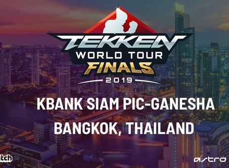 FINALES TEKKEN WORLD TOUR 2019 6-7 DÉCEMBRE 2019