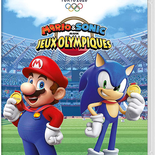 MARIO SONIC JEUX OLYMPIQUES SWITCH