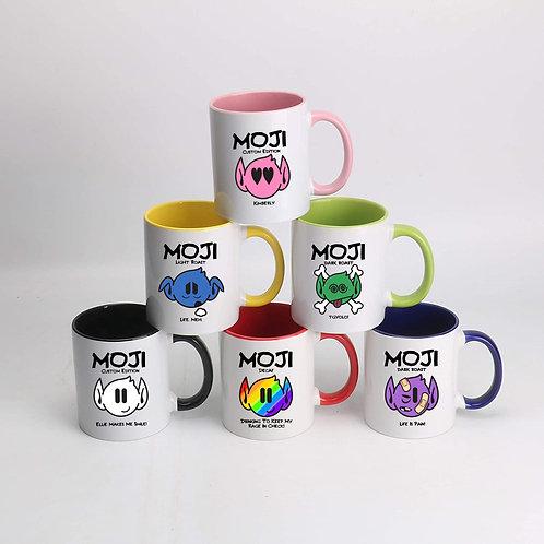 Customized Moji Mugs