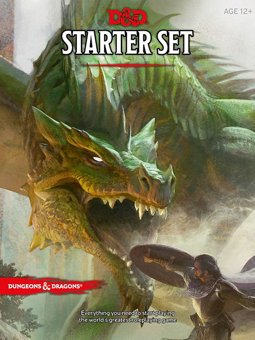 Dungeons and Dragons 5E Starter Set Box