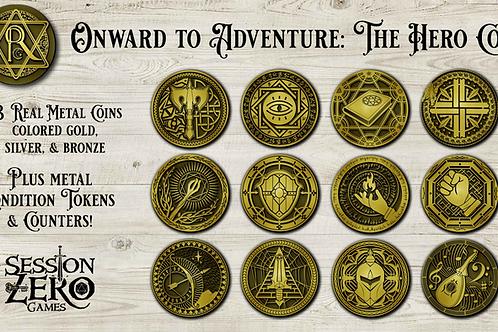 Onward To Adventure Hero Coins