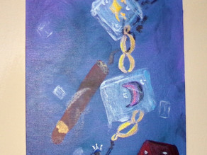 """A Poem for the Painting """"Cuban Link"""""""