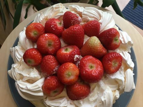 Eton Mess Cake!