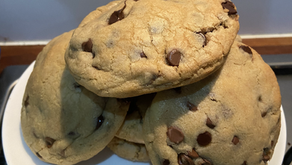 NYC Style Seriously Chocolatey Chocolate chip cookies!!!