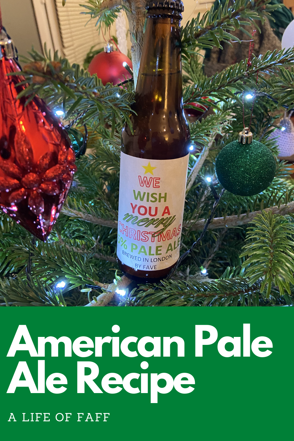 We wish you a Merry Christmas 5% pale ale pin 1 for Pinterest