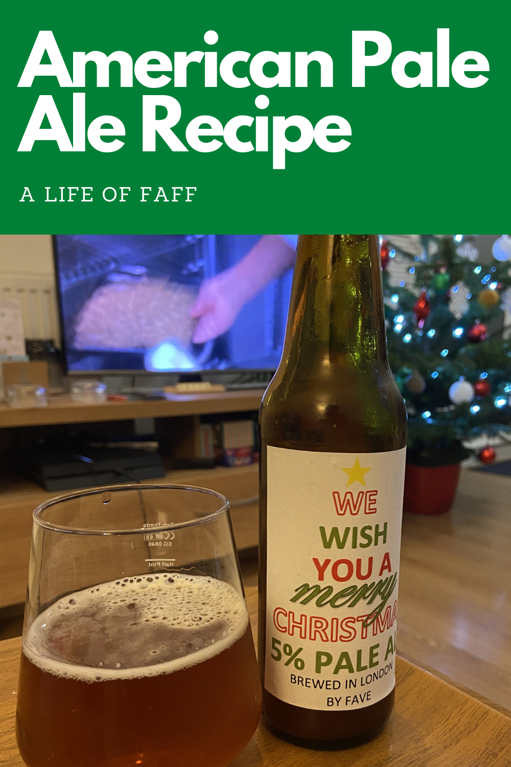 We wish you a Merry Christmas 5% pale ale Pin 2 for Pinterest