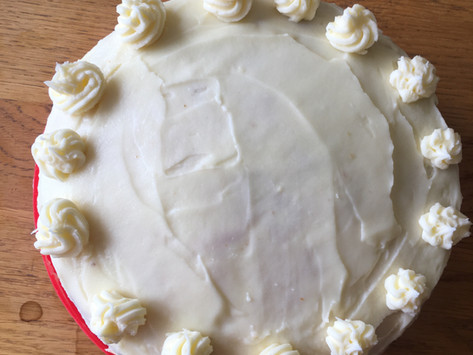 Take 2: Lemon layer cake with lemon buttercream! I told you I would not be defeated by a cake!