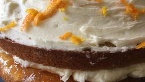 A cake for Paddington Bear - Marmalade cake