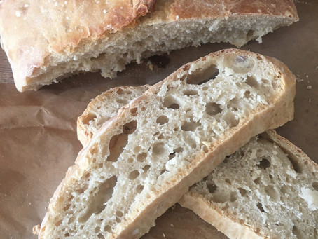 5 minute no knead bread recipe!