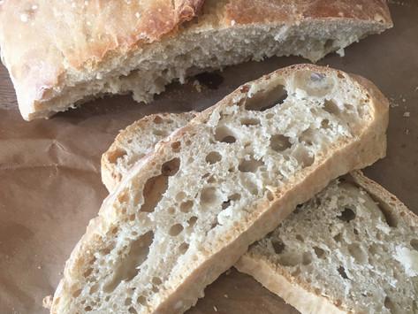 5 minute no knead bread recipe!