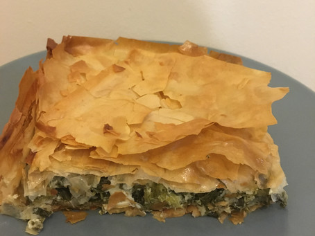 Spanakopita (Greek Pie) recipe!