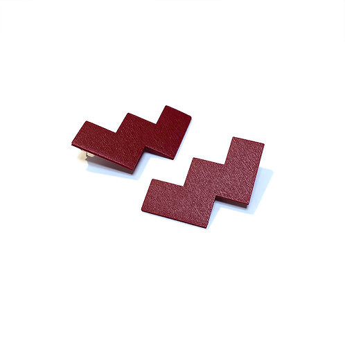 Geometry zigzag earrings