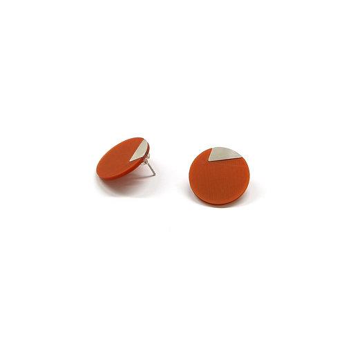 DUO earrings Irregular small pair