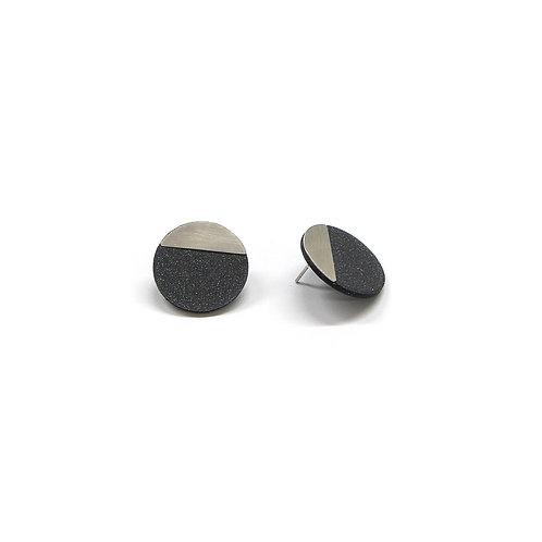 DUO earrings Curve small pair