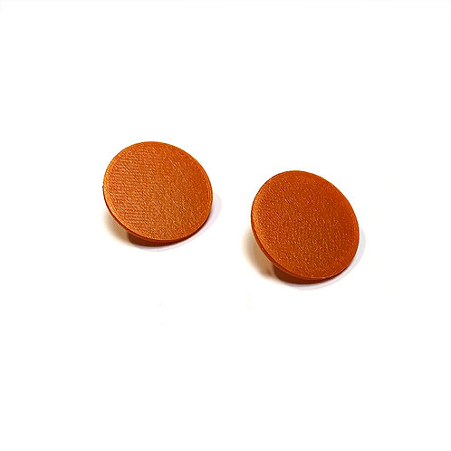 Geometry circle small earrings