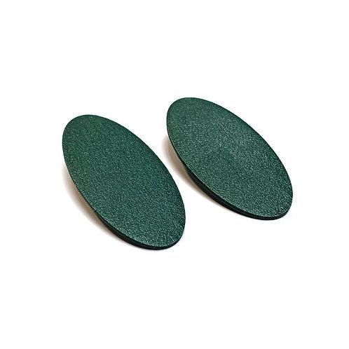 Geometry ellipse earrings