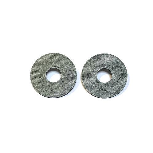 Geometry hollow circle big earrings