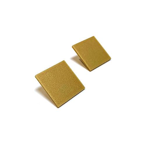 Geometry square earrings