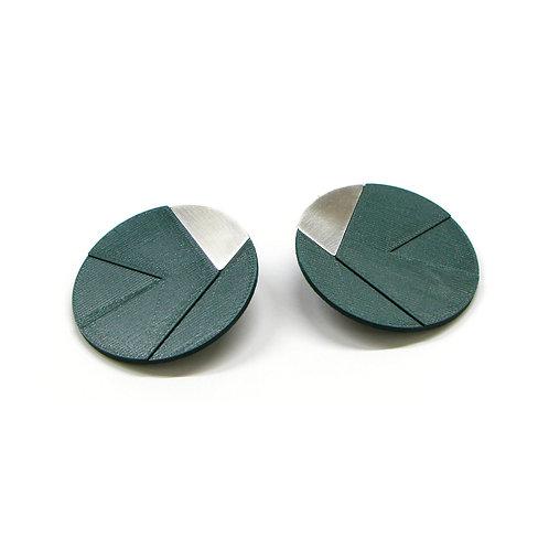 DUO earrings Irregular big pair