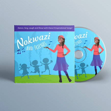Nokwazi and Friends - Illustration