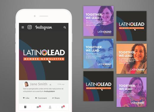 LatinoLEAD Website and Social Media