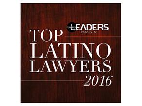 Top Latino Lawyers 2016