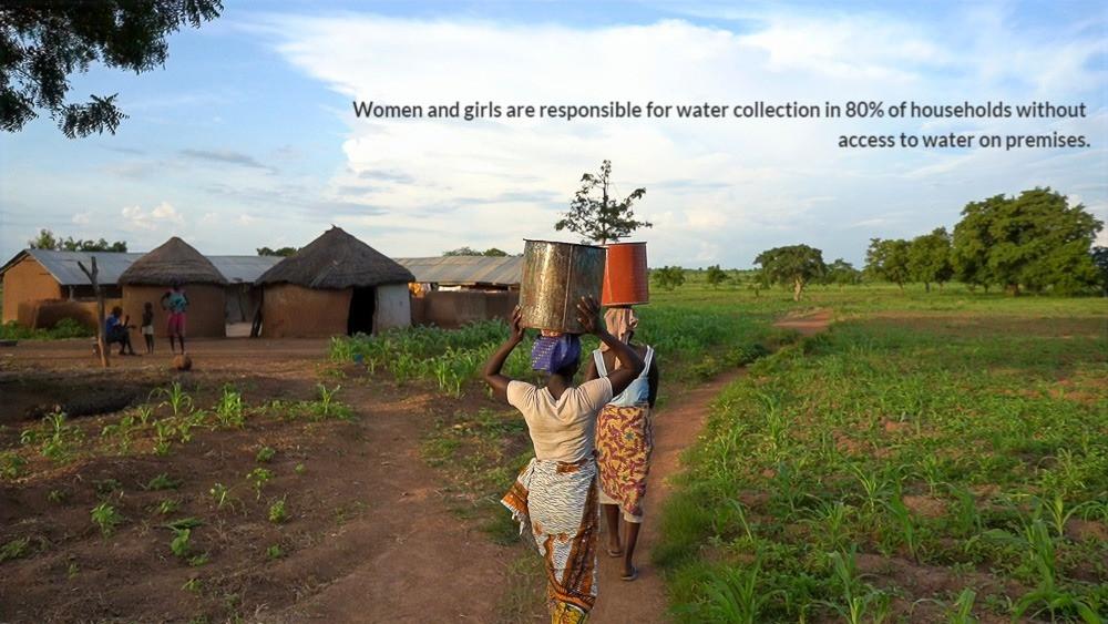 Ghanian Women Fetching Dirty Water